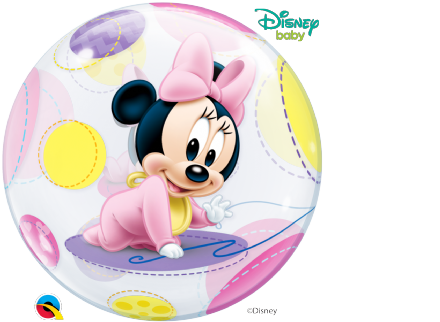 Mickey & Minnie Baby Bubble Balloon